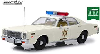 Plymouth Fury, Hazzard County Sheriff - Greenlight 19055 - 1/18 Scale Diecast Model Toy Car