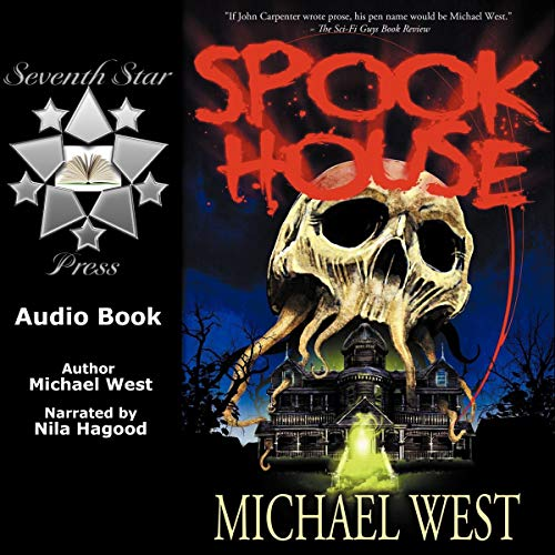 Spook House audiobook cover art