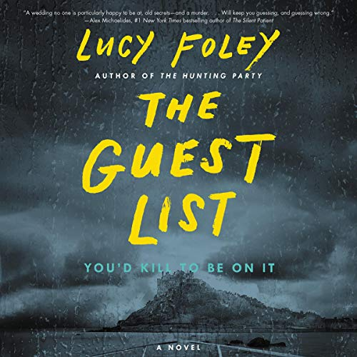 The Guest List audiobook cover art