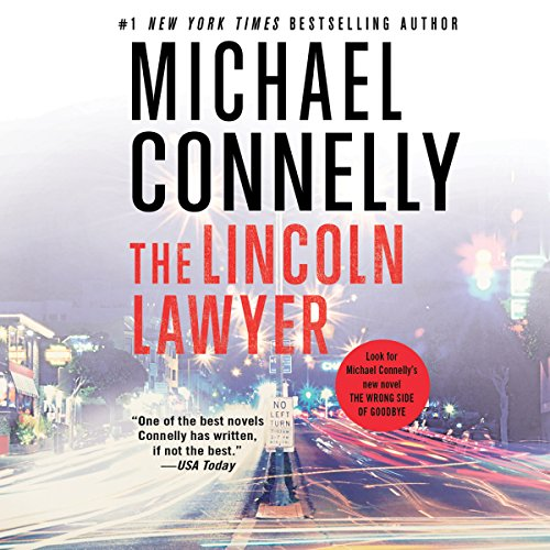 The Lincoln Lawyer  audiobook cover art