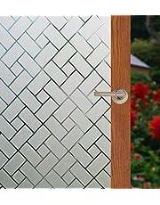 Arthome WALL DECOR Window Sticker Office Static Cling Window Films Privacy Film…