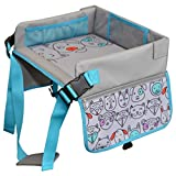 Kids Travel Tray by LillyCrafted-Premium Quality Toddler Car Seat Tray & Lap Table-