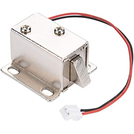 DC 12V Electric Solenoid Lock Secure Access Control for Door Cabinet Drawer