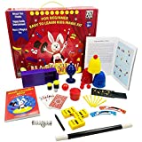 Funcaja Amazing Magic Kit for Kids - Easy-to-Learn Magic Set with 12 Beginner Magic Tricks for Children Ages 6 7 8 9 10 11