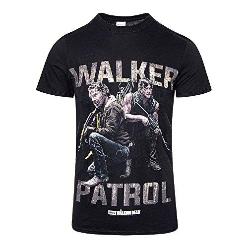 Camiseta oficial de The Walking Dead Rick/Daryl Walker Patrol