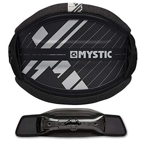 Mystic Majestic X Herren HÜFT Windsurf TRAPEZ Black GR. XL + Stealth BAR
