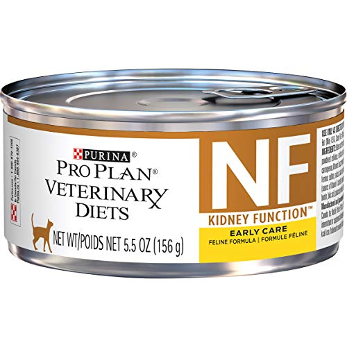 Purina Pro Plan Veterinary Diets NF Kidney Function Early Care Feline Formula Adult Wet Cat Food - (24) 5.5 Oz Cans