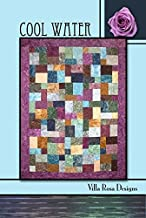 Villa Rosa Cool Water Quilt Postcard Quilting Pattern