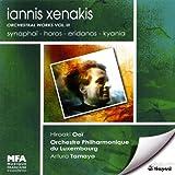 Iannis Xenakis: Orchesterweke Vol. 3 (Synaphai / Horos / Eridanos / Kyania)