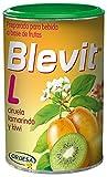 Blevit L - Infusión Laxante Natural a base de Frutas ideal para el Estreñimiento Crónico o Agudo - Sin Gluten y Sin Azúcares Añadidos - Para todas las edades - 150g