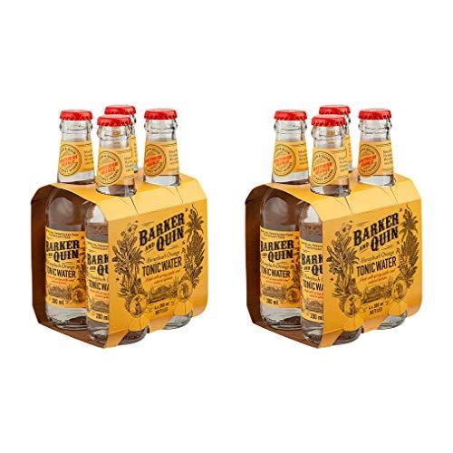Barker & Quin Honeybush & Orange Tonic 8 x 200ml / rein natürlich / Südafrika toller Begleiter zu Gin / handwerklich hergestellt / (Einweg Flaschen Preis incl. 2,00 € / 8 x 0,25€ DPG Einwegpfand)