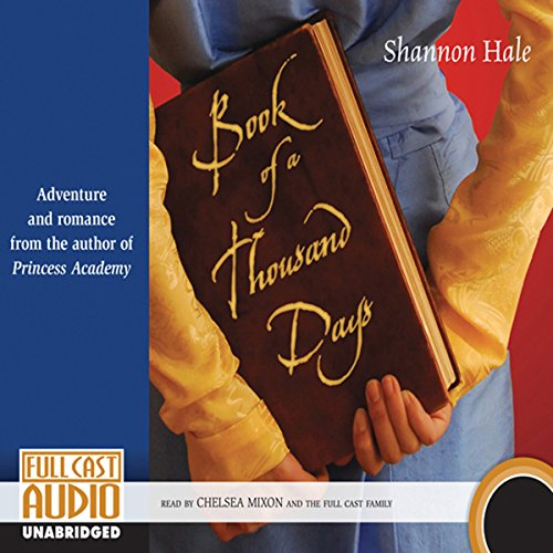 Book of a Thousand Days audiobook cover art