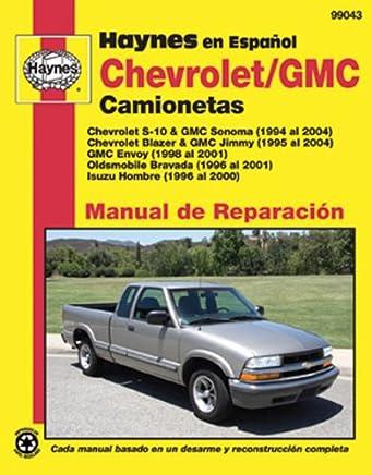 Chevrolet S-10 & GMC Sonoma, 94-04 (Spanish)
