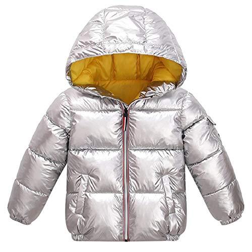 WQINSHOE Dei Ragazzi di modo di Inverno cappotti Giacca invernale per Bambini giù Cappotto del Cotone Impermeabile Snowsuit rosa Oro Argento Giacca Con Cappuccio Parka Delle ragazze di Down cappotti