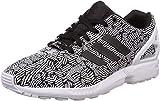 Adidas ZX Flux W, Zapatillas Mujer, Negro (Cblack/Cblack/Ftwwht), 38 2/3 EU