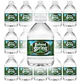 Poland Spring 100% Natural Spring Water, 8oz Bottle (Pack of 15, Total of 120 Fl Oz)