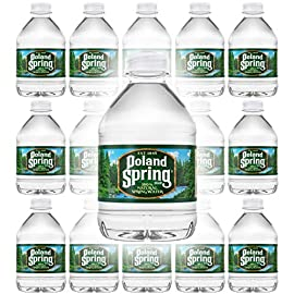 Poland Spring 100% Natural Spring Water, 8oz Bottle (Pack of 15, Total of 120 Fl Oz) 3 Poland Spring 100% Natural Spring Water 8oz Bottle (Pack of 15, Total of 120 Fl Oz) Zero Calories, No Sweeteners And No Artificial Colors Or Flavors