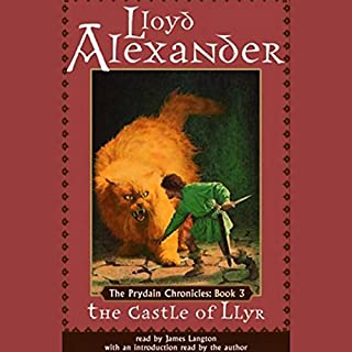 The Castle of Llyr audiobook cover art
