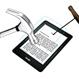 Acm Tempered Glass Screenguard Compatible with Kindle Voyage 6' Tablet Screen Guard Scratch Protector