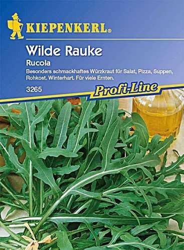 Sperli 3265 Gemüsesamen Wilde Rauke Rucola, grün