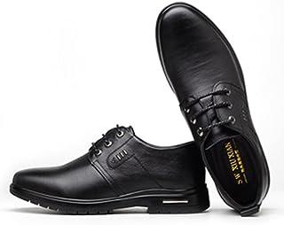 [HONGJING] ビジネスシューズ メンズ 靴 紳士靴 スリッポン カジュアル オールシーズン ローファー 軽量 防水 防滑 防臭 高反発インソール スニ-カーの履き心地 ウォーキングシューズ