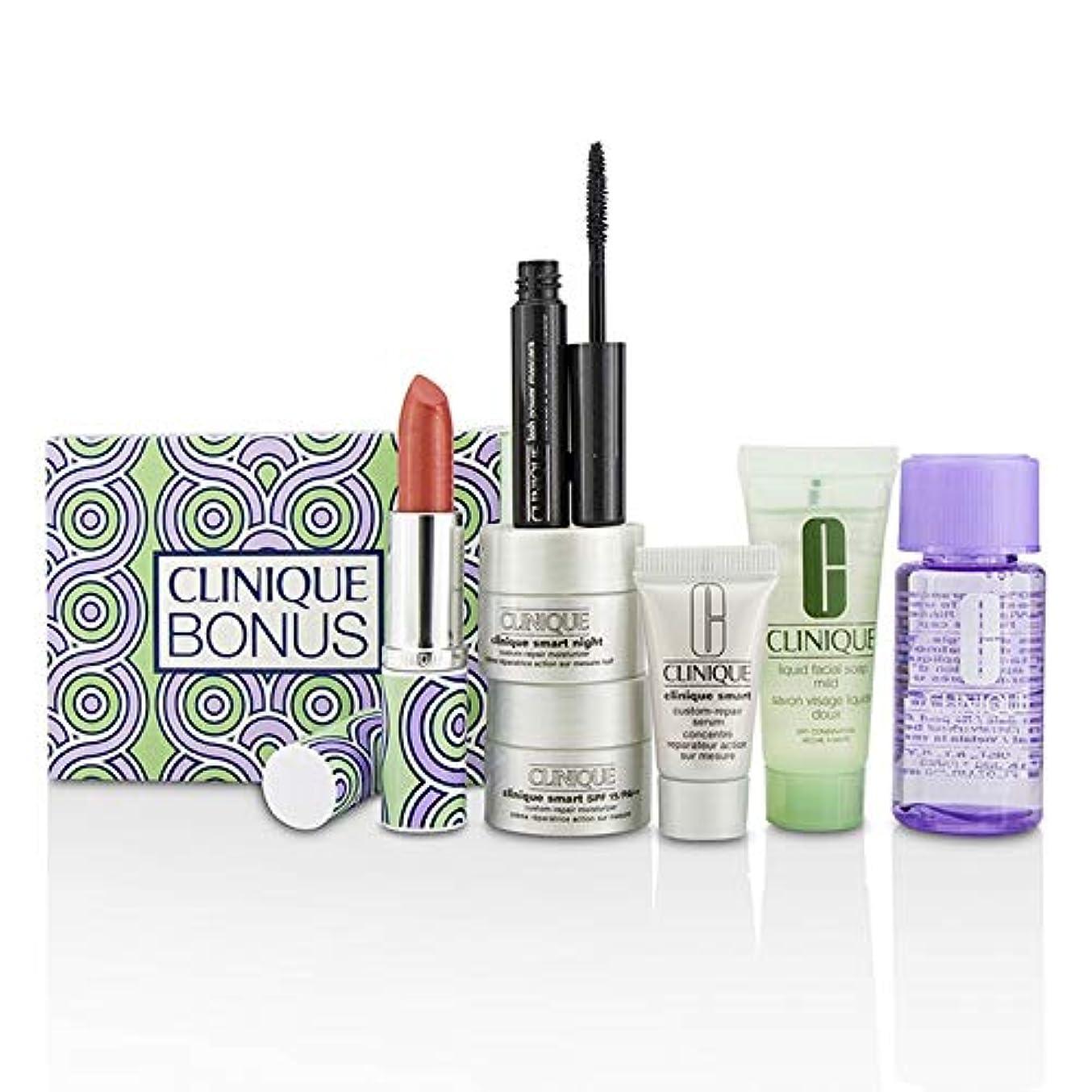 できた野生ピッククリニーク Bonus Travel Set: M/U Remover + Facial Soap + Repair Serum + 2x Moisturizer + Mascara + Lip Color 7pcs並行輸入品