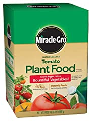 Instantly feeds to grow bigger, more bountiful vegetables vs. unfed plants Feed every 1-2 weeks Great for tomatoes and vegetables Use with Miracle-Gro Garden Feeder or any watering can Safe for all plants, guaranteed not to burn when used as directed