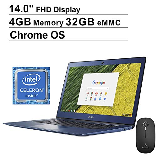 Comparison of Acer Chromebook vs Dell Chromebook 11 (C3181)