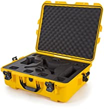 Nanuk DJI Drone Waterproof Hard Case with Custom Foam Insert for DJI Phantom 4/ Phantom 4 Pro (Pro+) / Advanced (Advanced+) & Phantom 3 - Yellow