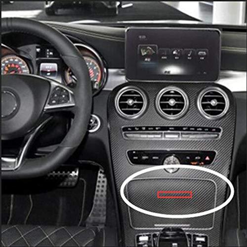Yoin 83mm Letter Emblem Abzeichen für Mercedes Benz AMG Interieur Mittelkonsole Fob Logo Auto Styling Zubehör 3D Aufkleber für CE GLK GLA, Chrom Silber
