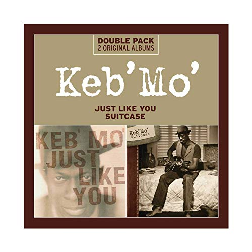 Keb' Mo' Album Cover - Just Like You Suitcase Canvas Poster Wall Art Decor Print Picture Paintings for Living Room Bedroom Decoration 28×28inch(70×70cm) Unframe-style1