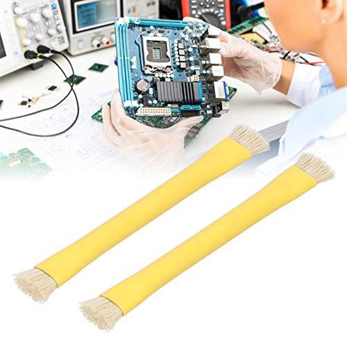 Cepillo para placa de circuito, cepillo para placa base de plástico y metal fácil de transportar para placas base de computadora para placas base de teléfonos móviles para varias placas de