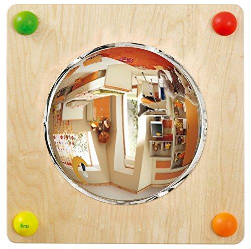 Erzi 57,5x 57,5x 9,5cm Baby Weg Spiegel Duo Deutsche Holz Spielzeug