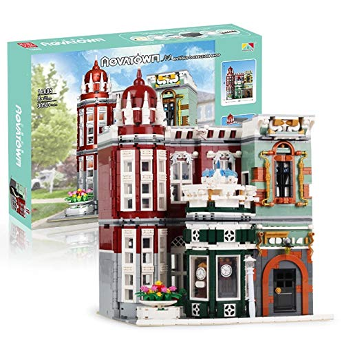 Juegos De Construcción De Casas Modulares, Modelo De Bloques De Construcción De Tienda De Colección Antigua, Bloques De 3050 Piezas Compatibles Con Lego,El Modelo De Construcción No Es Creado Por Lego