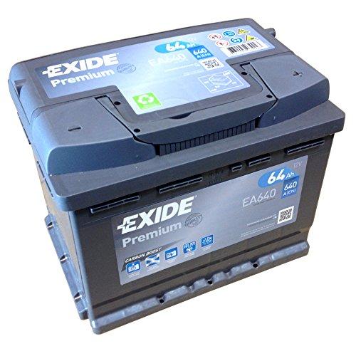 Preisvergleich Produktbild EXIDE PREMIUM Carbon Boost EA 640 12V 64AH Starterbatterie Neues Modell 2014 / 15