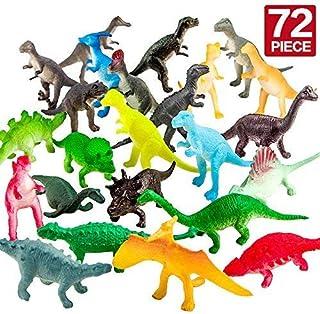 ValeforToy 72 Piece Mini دایناسور مجموعه اسباب بازی