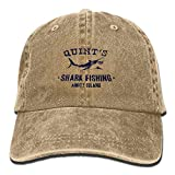Caps Quints Shark Fishing Jaws Cotton Adjustable Denim Hats Baseball Cap for Man and Woman...