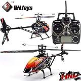 HND Hélicoptère RC électrique Monorotor V913 Brushless WLToys 2.4Ghz RTF