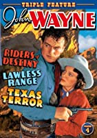 John Wayne Triple Feature 4 [DVD] [Import]