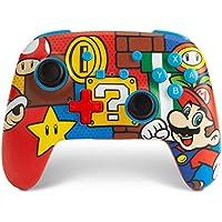 PowerA Enhanced Mario Pop Wireless Controller for Nintendo Switch
