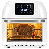 Best Choice Products 16.9qt 1800W 10-in-1 Family Size Air Fryer Countertop Oven, Rotisserie, Dehydrator - White