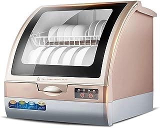 DWLXSH Mini Lavavajillas Compacto encimera Lavavajillas-portátil for Pequeño Apartamento Oficina y Hogar Cocina, 6 Coloque lavavajillas, 4 Programas, 70 ° Máxima Temperatura de Limpieza