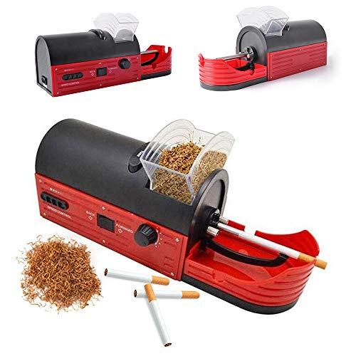 HosDevice Portátil Maquina Liar Tabaco Automatica, Maquina De Entubar Cigarrillos Electrica, Tubos Cigarrillos, Padre