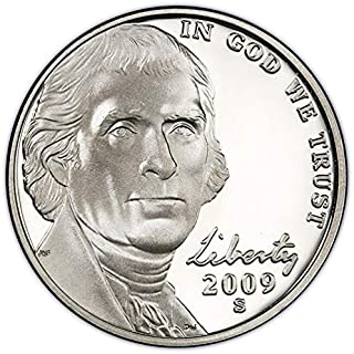 2009 S Proof Jefferson Nickel Choice Uncirculated US Mint
