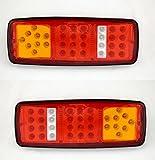 2focos LED traseros, 12V, 4funciones, para camión, caravana, etc.