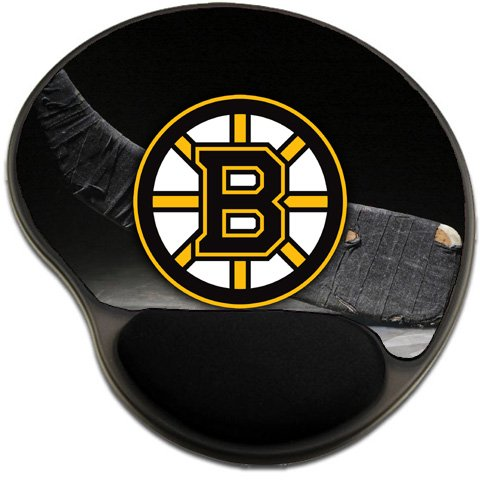 Bruins Hockey Mousepad Base with Wrist Support Mouse Pad Great Gift Idea Boston