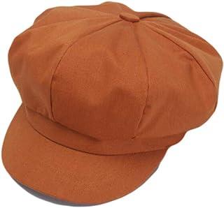 a382e36ec1f Qiabao Women s Classic Solid Cotton Newsboy Hat Cabbie Beret Cap