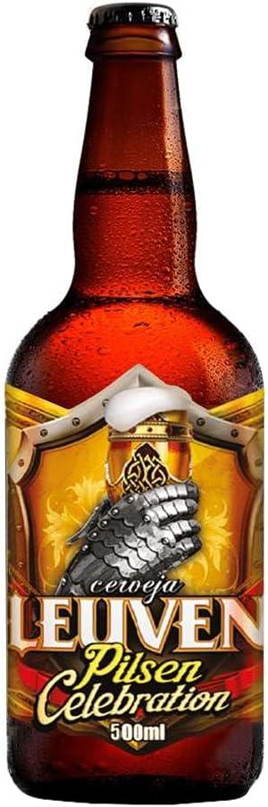Cerveja Artesanal Leuven Pilsen Celebration Garrafa 500Ml