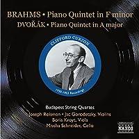 Brahms/Dvorak: Piano Quintets