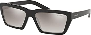 Prada CONCEPTUAL PR04VS Sunglasses 1AB5O0-59 -, Gradient Grey Mirror Silver PR04VS-1AB5O0-59